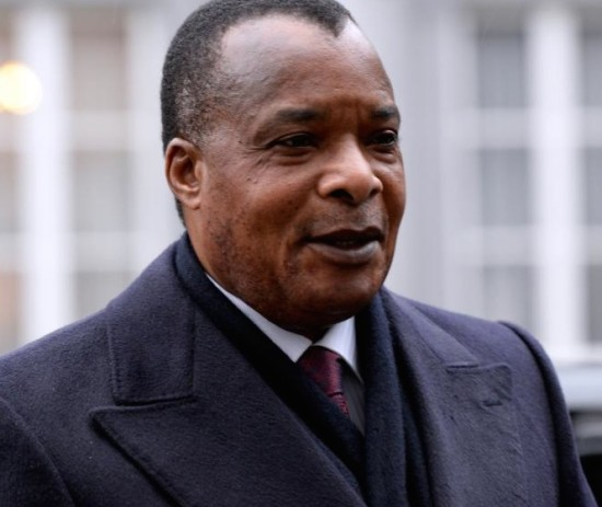 Nguesso: claims massive victory
