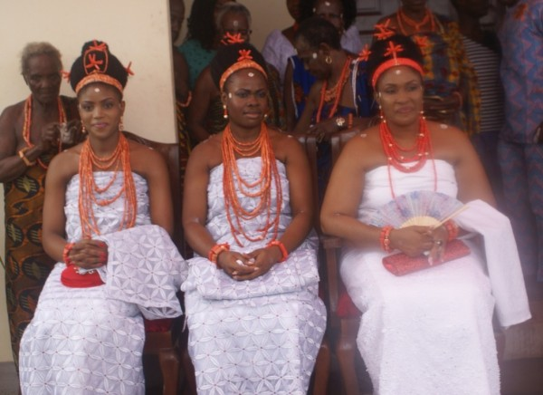 The three wives Oloi NErie of the Crown Prince-