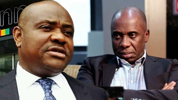 Wike and Amaechi: bickering old friends