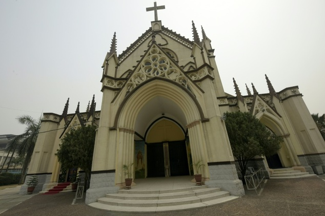 The Lagos Cathedral. AFP Photo
