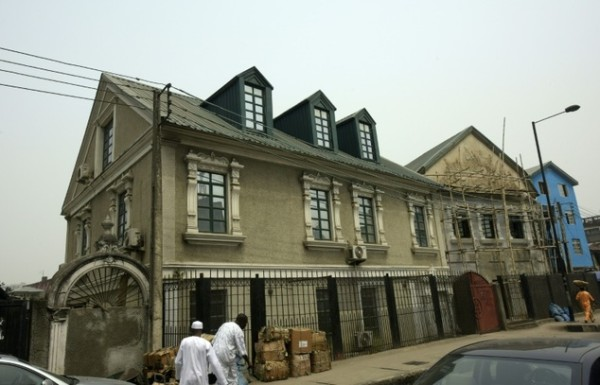 An old style Brazilian house in Lagos