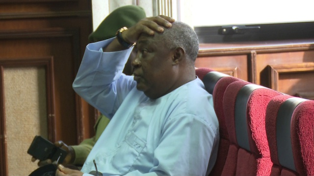 Air Marshal Badeh: in court