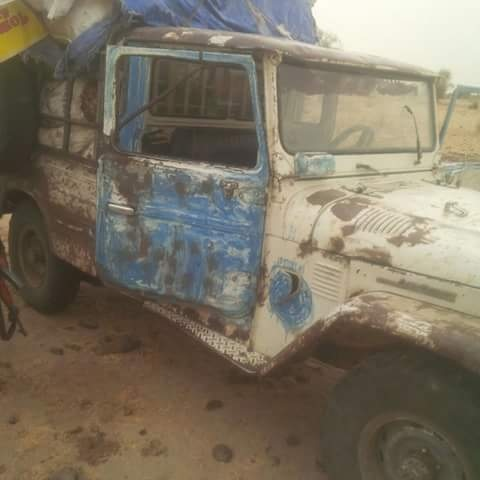 A vehicle was also recovered