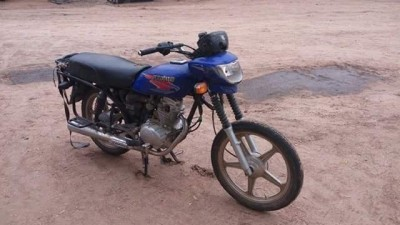 And a motorbike!