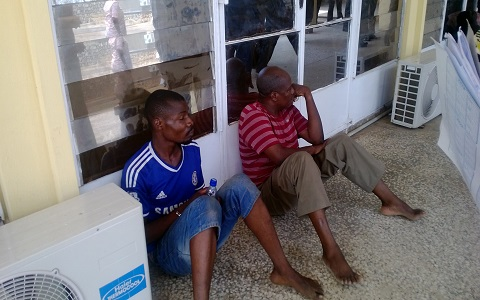 The Ibadan kidnapper, along with another suspect