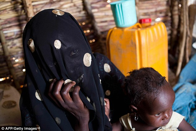 A woman rescued from Boko Haram