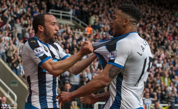 Andros Townsend: scored a vital goal for Newcastle