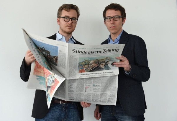 The German journalists, Obermaier and Obermayer