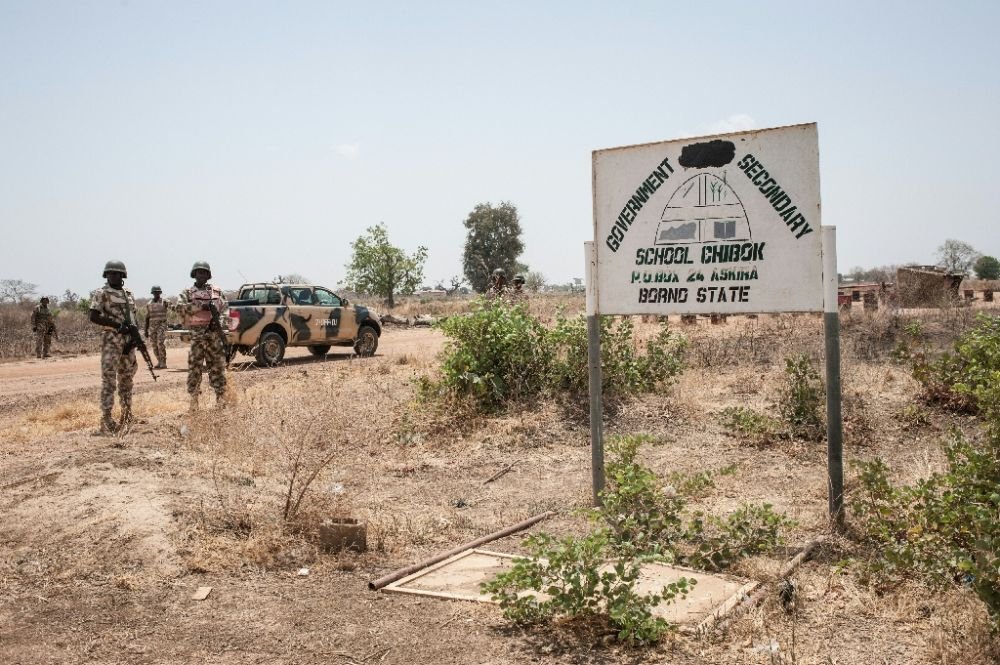 Empty site of Chibok Girls Secondary School where on 14 April 275 girls were stolen by Boko Haram