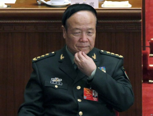 Guo Boxiong: admits taking bribes