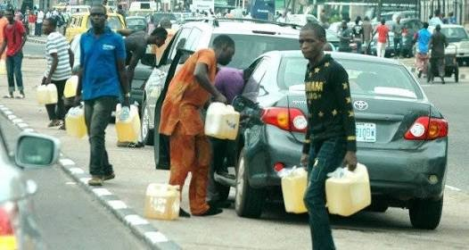 File: Fuel vendors selling in times of scarcity