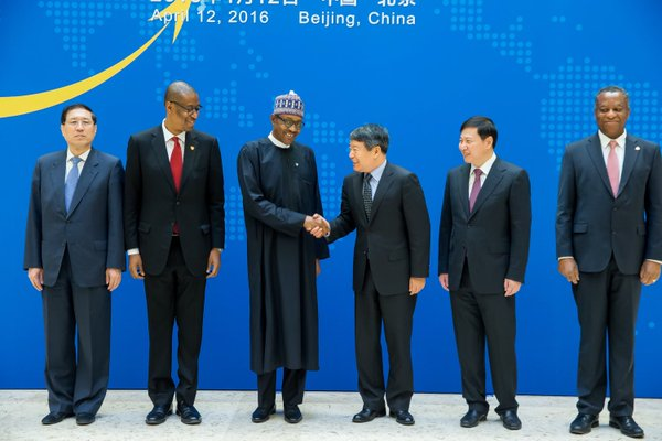 It's a deal: Buhari meets Chinese officials