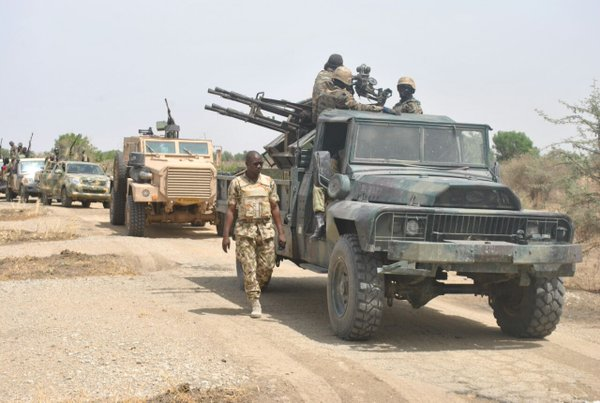 Nigeria, Cameroon troops in joint military operation