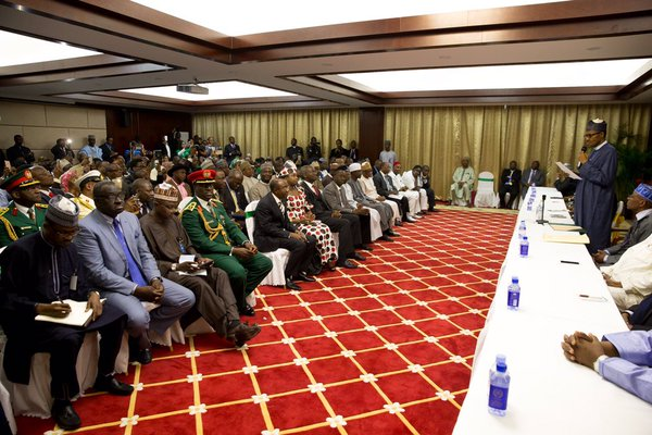 The Nigerians resident in Beijing who met with PMB