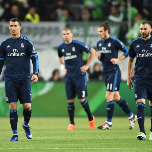Real Madrid players: shell shocked