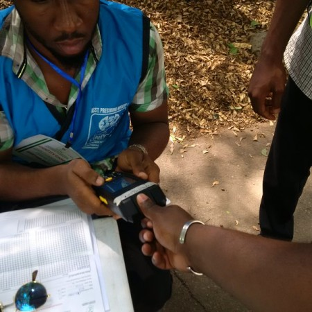 Abuja: Accrediting voters