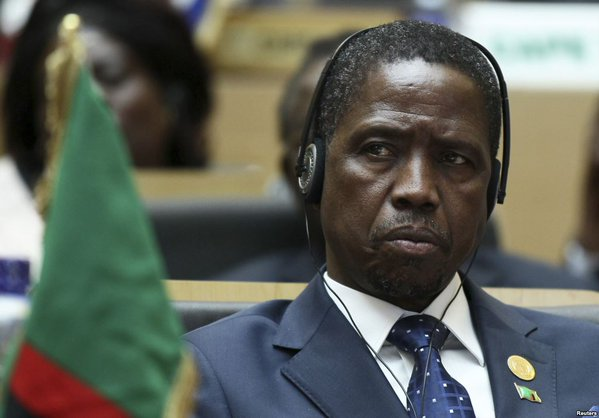 President Edgar Lungu of Zambia: says Presidential election was rigged