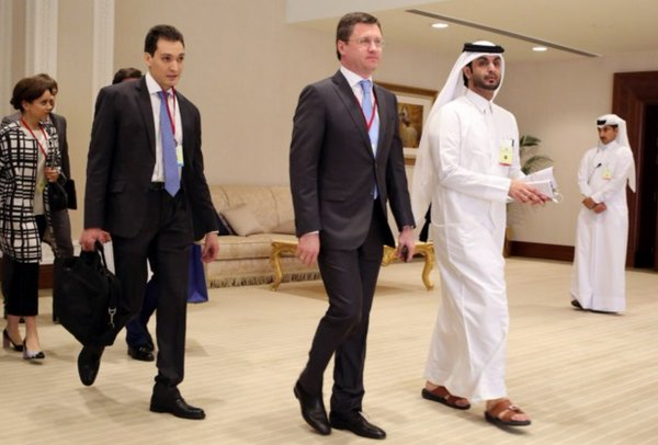 Doha Talks: The Russians  arriving for talks