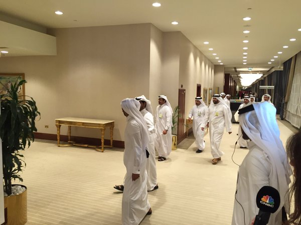 Delegates leave the Doha meeting without any agreement