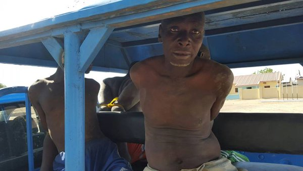 (FILE PHOTO) Arrested Boko Haram chief