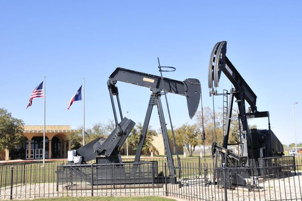 Oil rigs at Midland