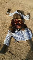 End of the road for the Boko Haram bomber