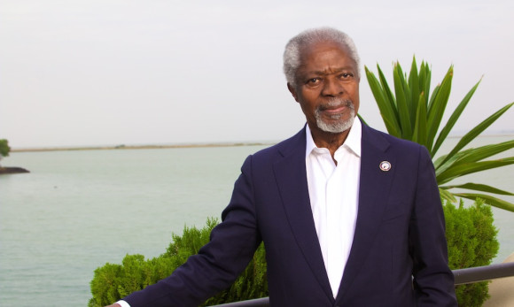Kofi Annan: urges African leaders to leave office when mandate expires
