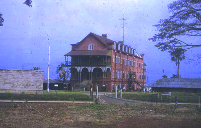 Old building of Fourah Bay College.