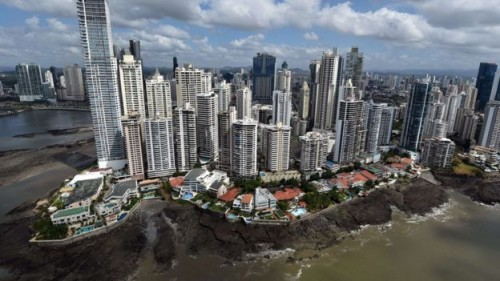 Panama is one of a number of popular tax havens in the Caribbean AFP photo