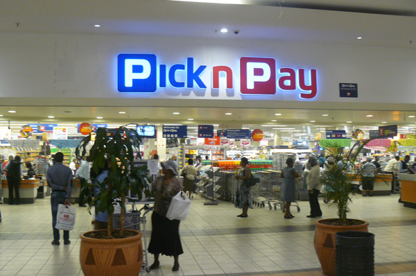 A Pick n Pay outlet in South Africa