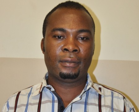 Robert Okorie: charged with visa scam