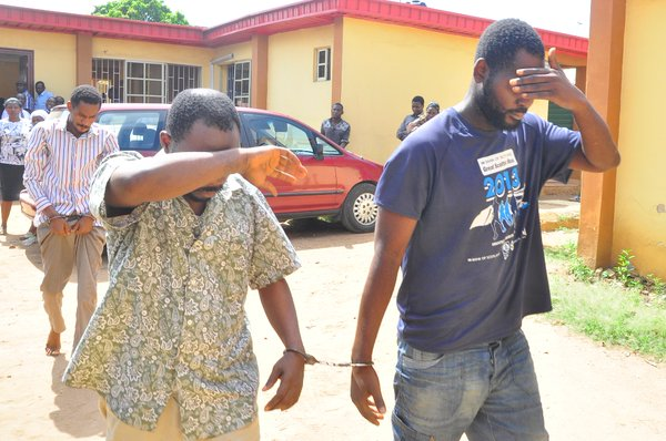The artisans arrested in Lagos for cloning Ambode's phone