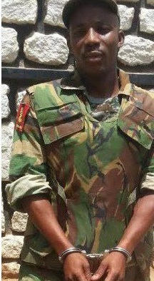 A fake soldier arrested in Kaduna