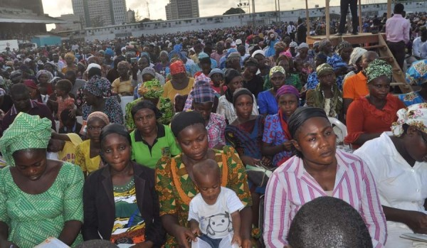 Cross Section of worshipers at the special Revival Programme