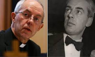 Justin Welby and Anthony Montague Browne,