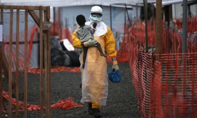 A five year old Ebola positive in Liberia