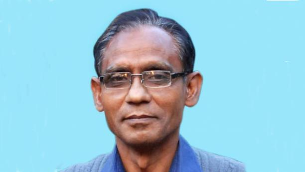 Professor Siddique: hacked to death at bus stop