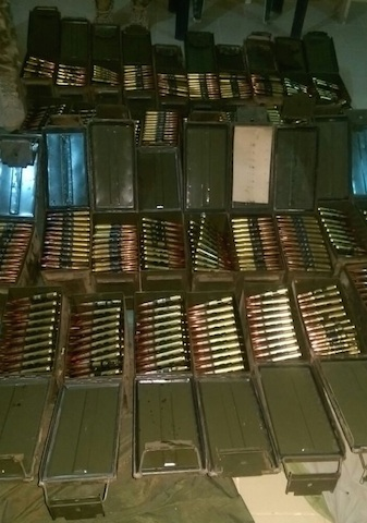 Some of the Boko Haram weapons