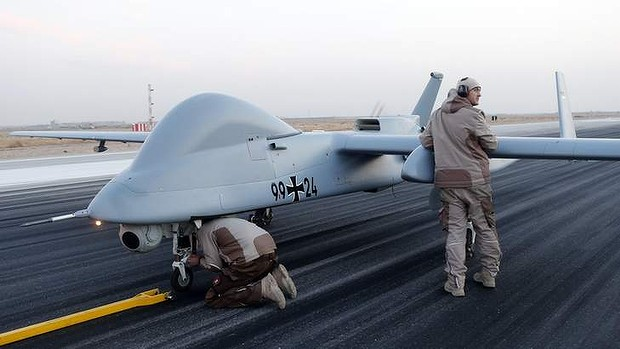 A German military drone