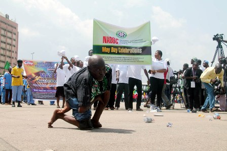 Activities at the eagle square during the May celebration in Abuja. By Feni Ipaye