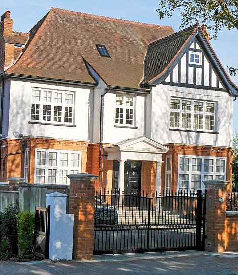 14 Mapesbury Rd NW6 bought by former Nigerian governor of Bayelsa State Diepreye Alamaseigha.