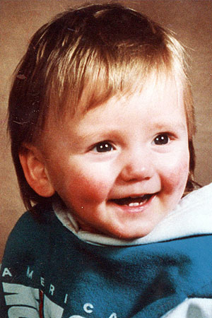the 21 month old Ben Needham when he vanished 25 years ago