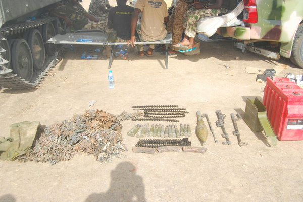 Some other items impounded from Boko Haram