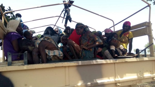 The people rescued from Boko Haram