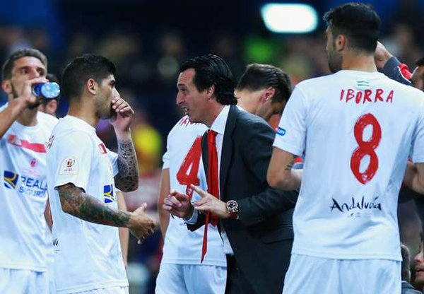 Sevilla: though down to nine men gave Barcelona a tough night to remember