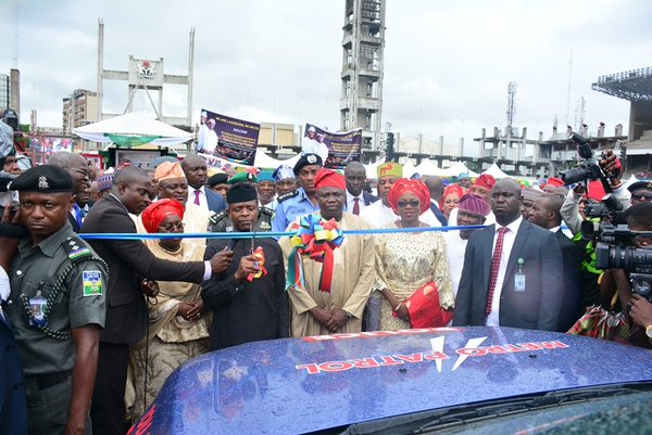 Commissioning of security vehicles by VP Osinbajo