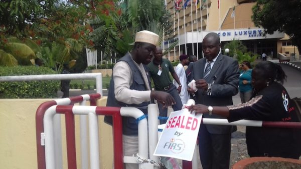 FIRS officials at NICON Luxury Hotel Abuja