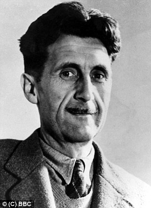 George Orwell: Credit: Daily Mail