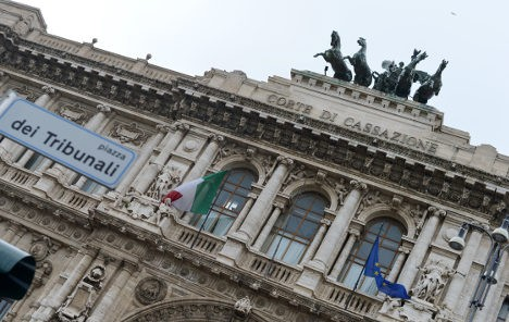 Another landmark ruling by Italy's highest court