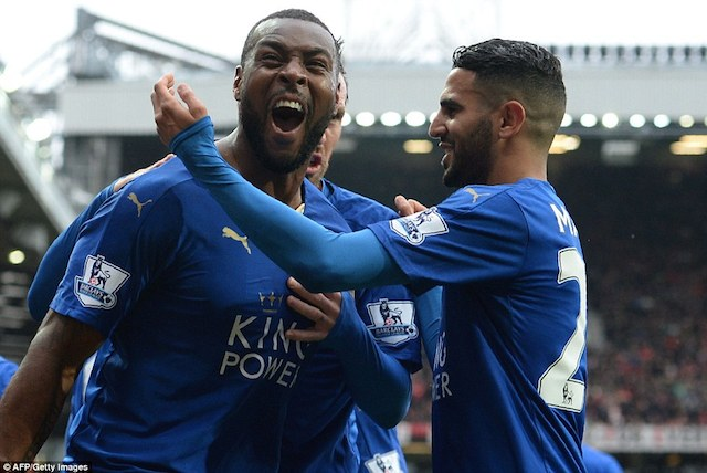 Wes Morgan: responded to Man United's early goal